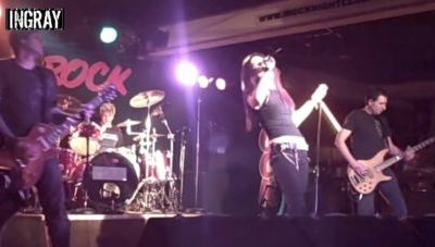 AXA / Ingray – a 7 Song Set Live @ iRock Detroit