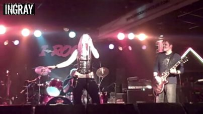 "AXA / INGRAY- ""Immigrant Song"" Live @ iRock"