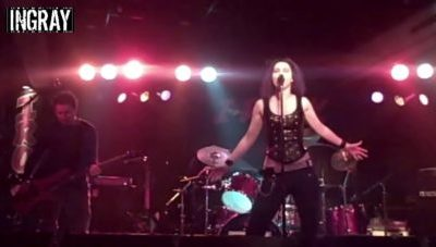 "AXA / Ingray ""Overload"" (Tea Party Cover) Live @ iRock"
