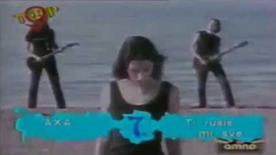 AXA | Rušiš mi sve – 90's footage from Bosnian TV